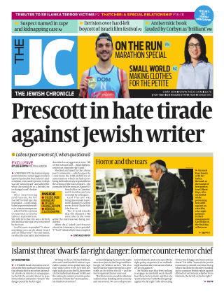 The Jewish Chronicle 3rd May 2019