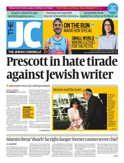 The Jewish Chronicle May 03, 2019 00:00