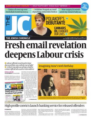 The Jewish Chronicle 14th June 2019