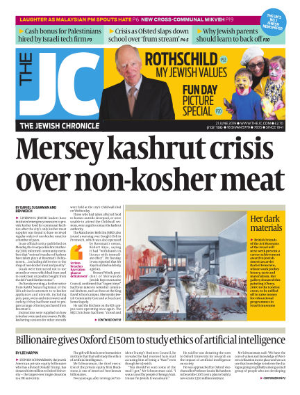 The Jewish Chronicle June 21, 2019 00:00