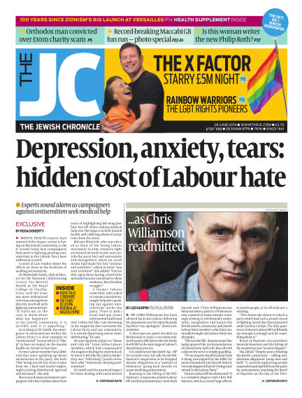 The Jewish Chronicle June 28, 2019 00:00