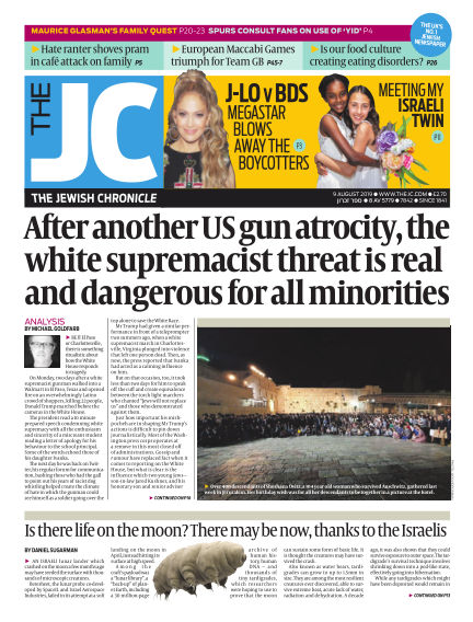 The Jewish Chronicle August 09, 2019 00:00