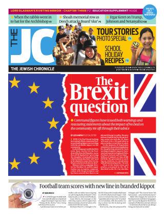 The Jewish Chronicle 16th August 2019