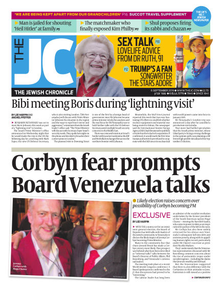 The Jewish Chronicle September 06, 2019 00:00