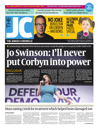 The Jewish Chronicle 13th September 2019