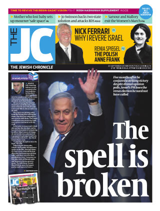 The Jewish Chronicle 20th September 2019