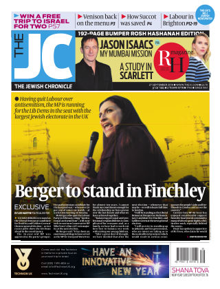 The Jewish Chronicle 27th September 2019