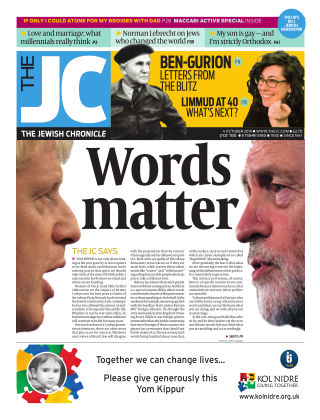 The Jewish Chronicle 4th October 2019