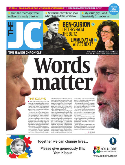 The Jewish Chronicle October 04, 2019 00:00