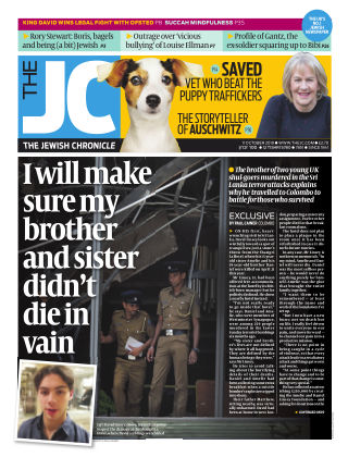 The Jewish Chronicle 11th October 2019