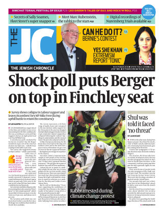 The Jewish Chronicle 18th October 2019