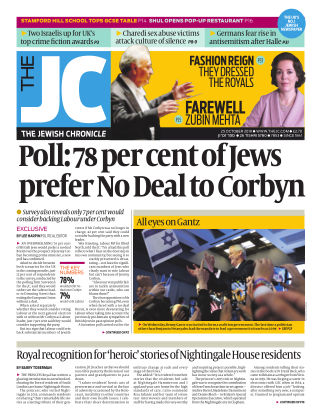 The Jewish Chronicle 25th October 2019