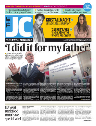 The Jewish Chronicle 15th November 2019