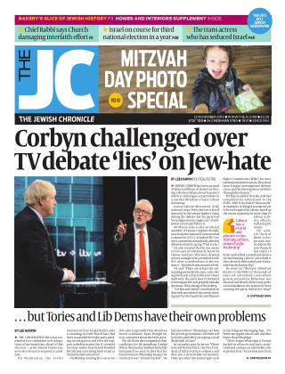 The Jewish Chronicle 22nd November 2019