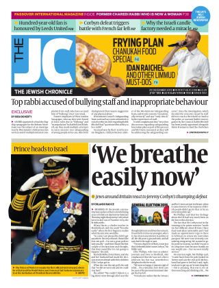 The Jewish Chronicle 20th December 2019