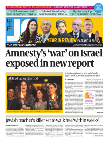 The Jewish Chronicle December 24, 2019 00:00