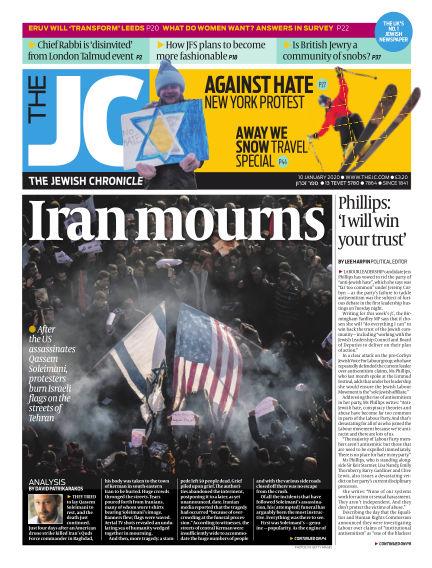 The Jewish Chronicle January 10, 2020 00:00
