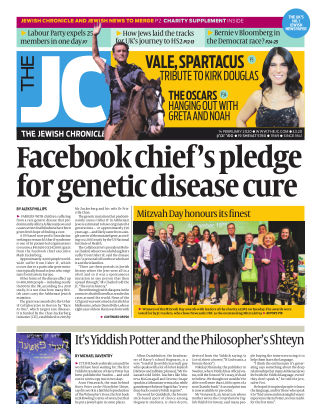 The Jewish Chronicle 14th February 2020