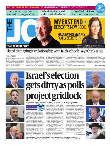 The Jewish Chronicle February 28, 2020 00:00