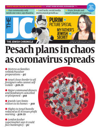 The Jewish Chronicle 13th March 2020