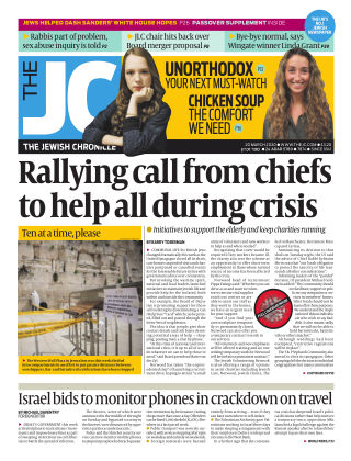 The Jewish Chronicle 20th March 2020