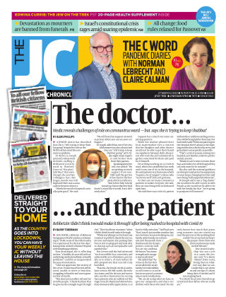 The Jewish Chronicle 27th March 2020