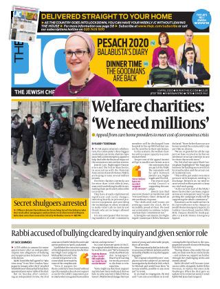 The Jewish Chronicle 3rd April 2020