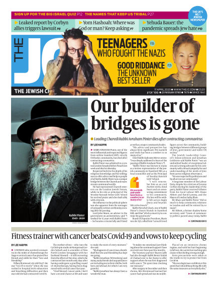 The Jewish Chronicle April 17, 2020 00:00