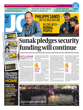 The Jewish Chronicle 1st May 2020