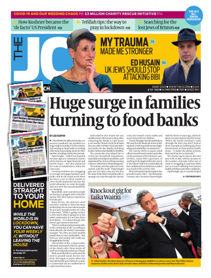 The Jewish Chronicle May 08, 2020 00:00