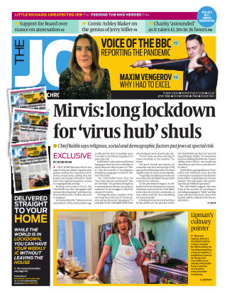 The Jewish Chronicle 15th May 2020