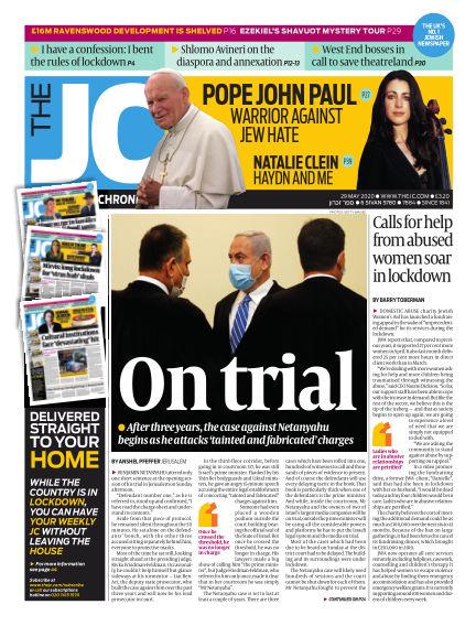 The Jewish Chronicle May 29, 2020 00:00