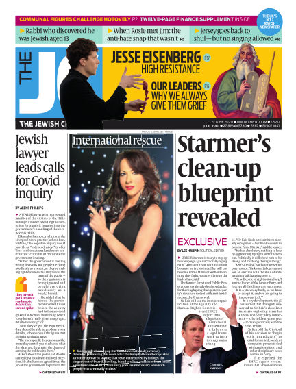 The Jewish Chronicle June 19, 2020 00:00