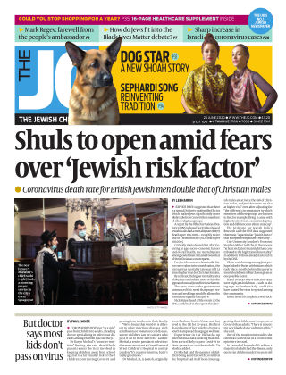 The Jewish Chronicle 26th June 2020