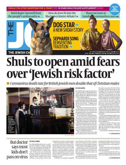 The Jewish Chronicle June 26, 2020 00:00