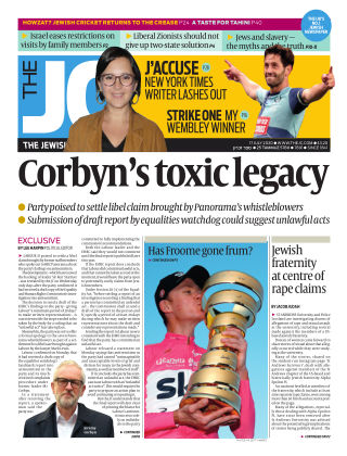 The Jewish Chronicle 17th July 2020