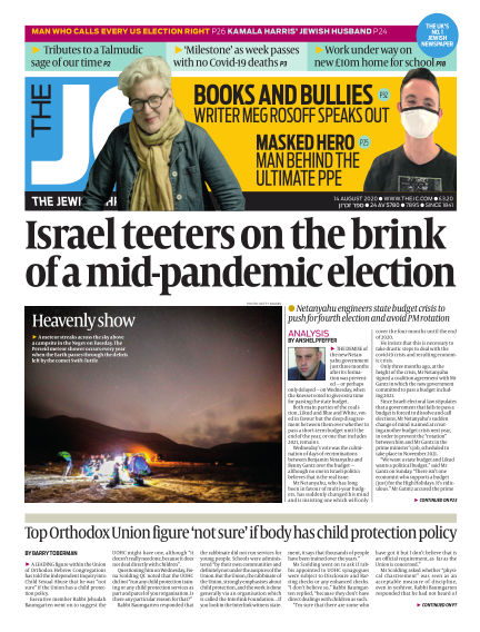 The Jewish Chronicle August 14, 2020 00:00