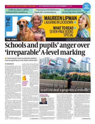 The Jewish Chronicle 21st August 2020