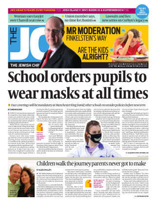 The Jewish Chronicle 28th August 2020