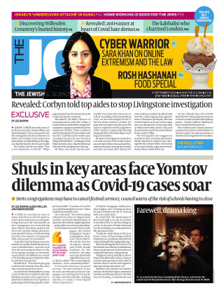The Jewish Chronicle 11th September 2020