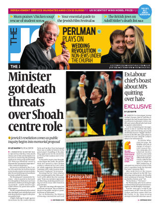 The Jewish Chronicle 9th October 2020