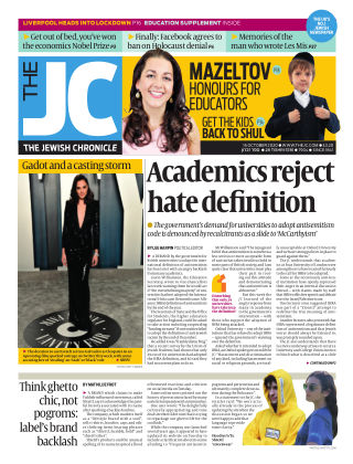 The Jewish Chronicle 16th October 2020