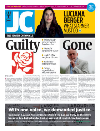 The Jewish Chronicle 30th October 2020