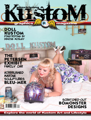 Pinstriping & Kustom Graphics Magazine 15th March 2018