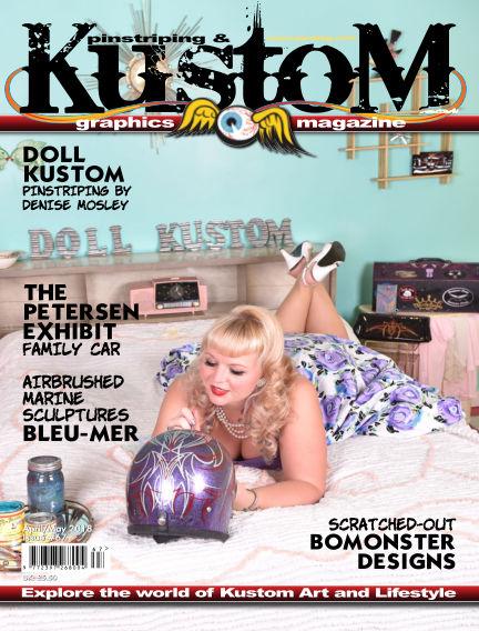 Pinstriping & Kustom Graphics Magazine May 15, 2018 00:00