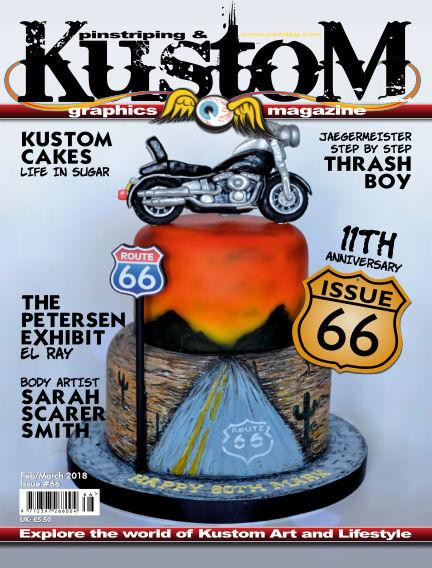 Pinstriping & Kustom Graphics Magazine February 01, 2018 00:00