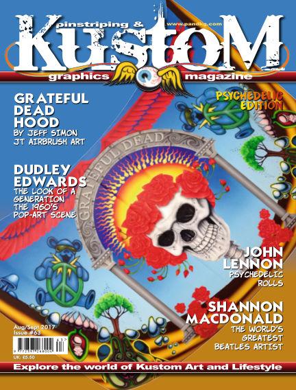 Pinstriping & Kustom Graphics Magazine August 01, 2017 00:00