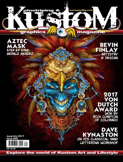 Pinstriping & Kustom Graphics Magazine June 01, 2017 00:00