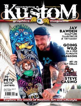 Pinstriping & Kustom Graphics Magazine 1st April 2017