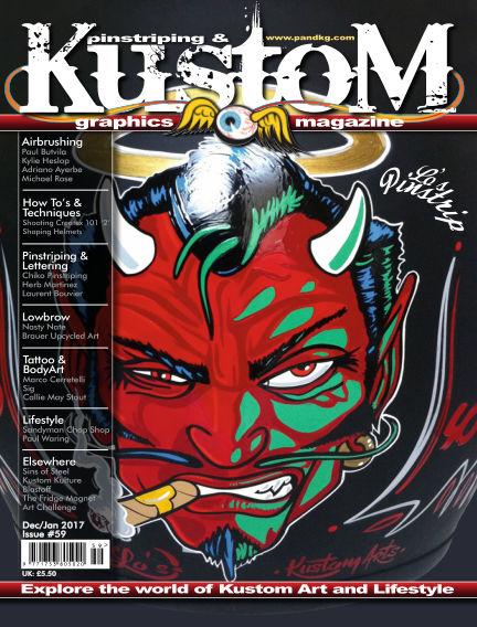 Pinstriping & Kustom Graphics Magazine December 01, 2016 00:00